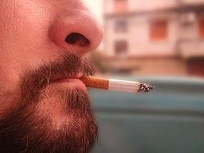 Selbst eine Zigarette am Tag kann schaden...