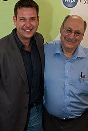 Markus Pillon mit H. Larry Elman