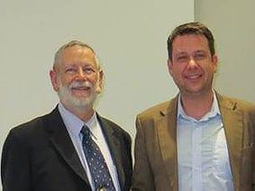 Markus Pillon mit Roy Hunter