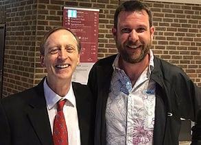 Markus Pillon und Dr. John Butler