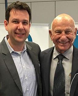Dr. Edwin Yager, der Begründer der Subliminal Therapy zusammen mit Markus Pillon
