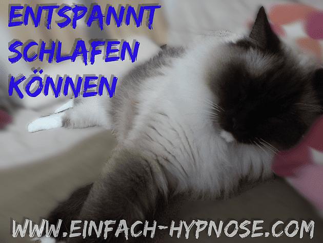 Hypnose hilft Ihnen dabei entspannt schlafen zu können